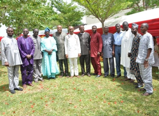 Members of the IFN National Executive Council in Abuja after their second 2014 council session