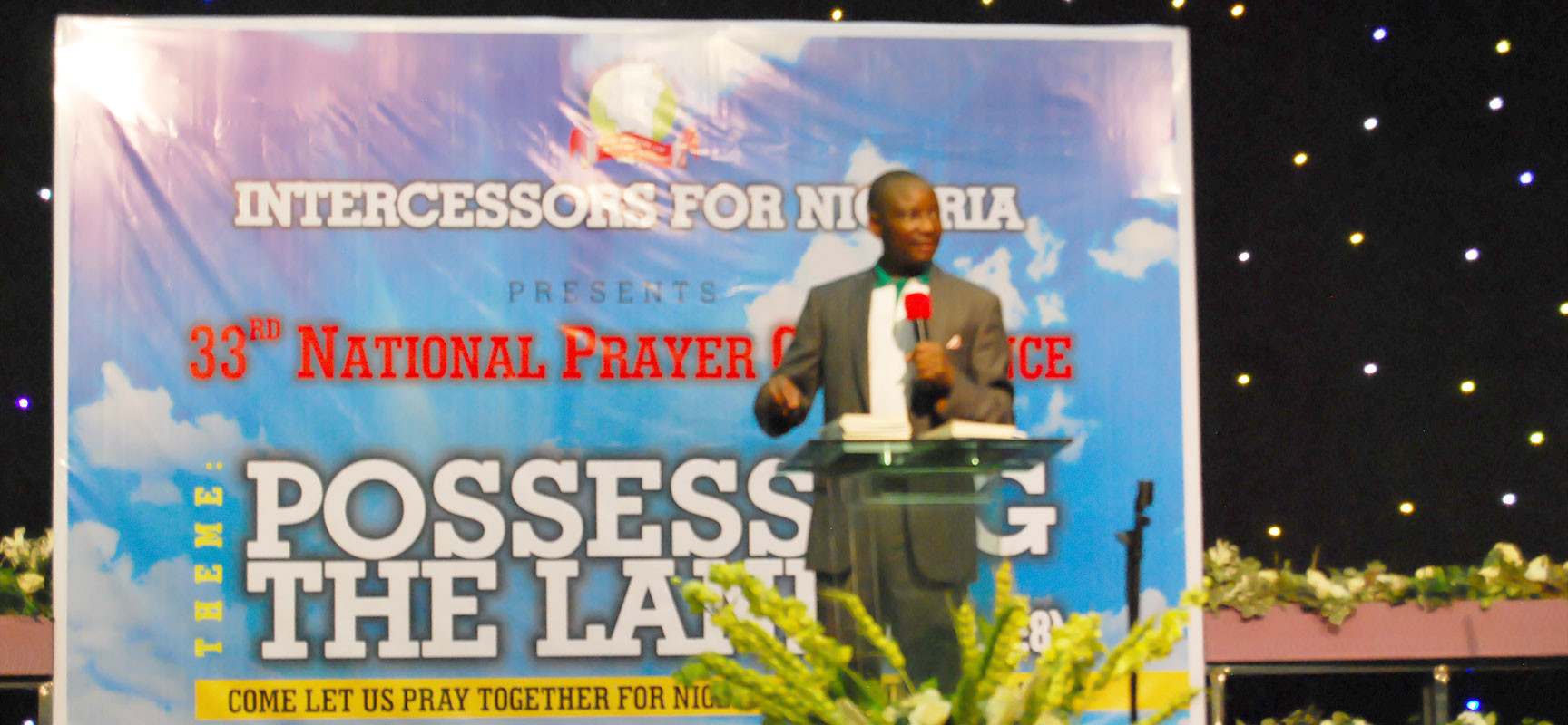 Pastor Olutayo gives his Speech supporting the IFN movement to the Glory of God.