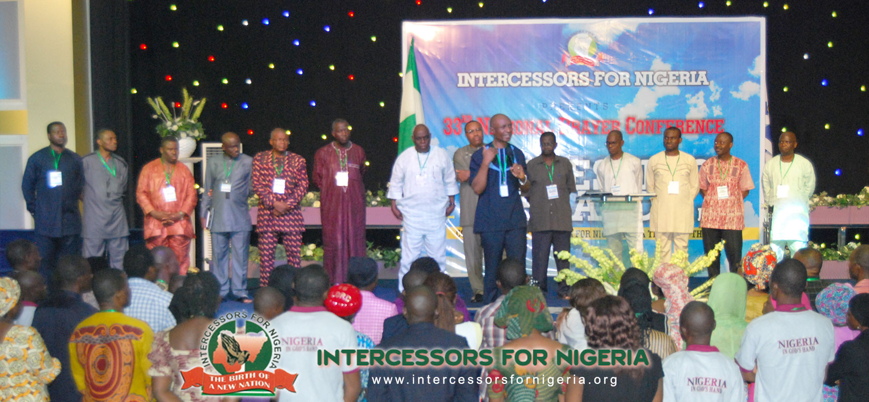 The IFN Executives deliver a brief History, stating the Corporate Vision, Mission & Objectives of the Organization then encourages New Comers to be devoted to the work of God.