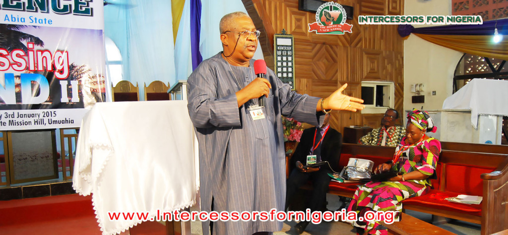 Barr. Emeka Nwankpa exhorts on being obedient to God inorder to possess the land.