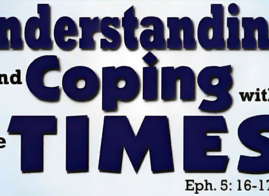 Understanding and Coping with the Times – Barr. Emeka Nwankpa