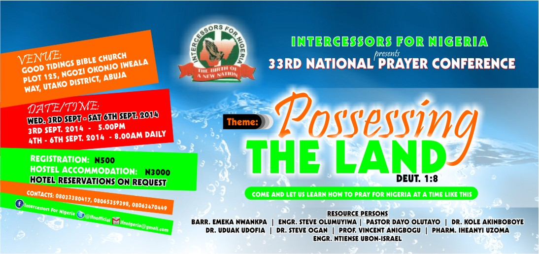 2014 IFN National Prayer Conference | Intercessors For Nigeria